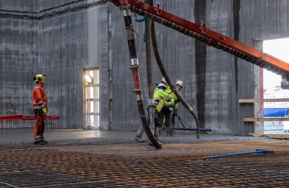 Det er mye nytt som skjer i betongbransjen nå. Foto: Tove Lauluten