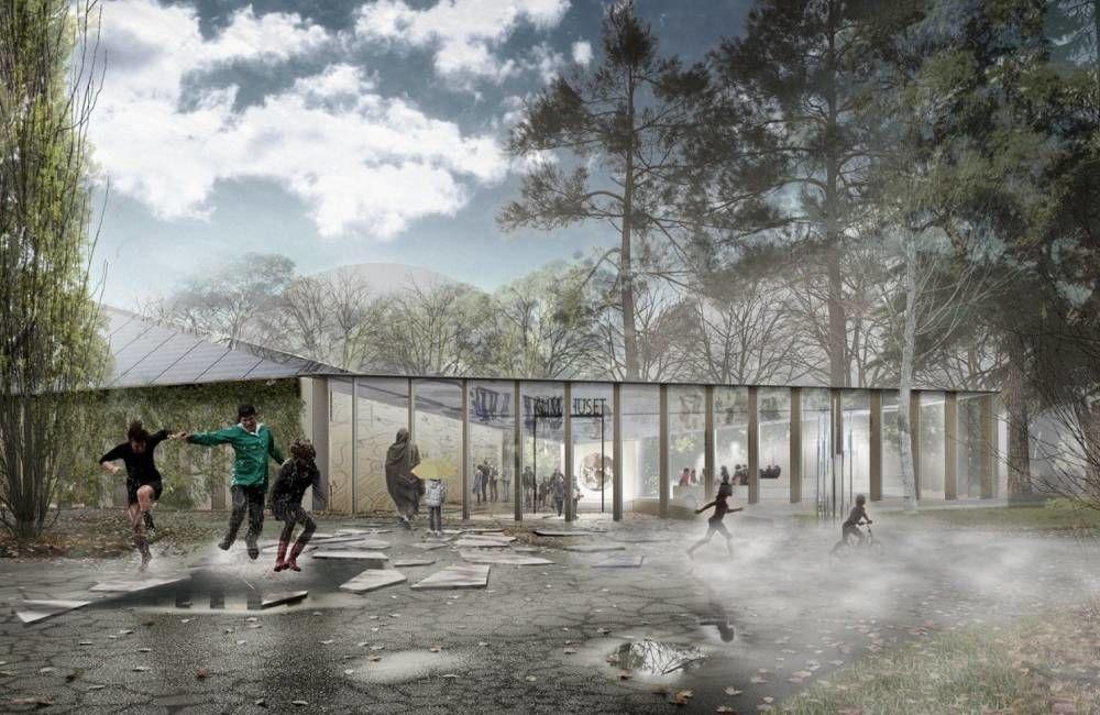 Mandag 2. desember har du muligheten til å bli med på byggeplassbefaring til Klimahuset. Ill.: Lund Hagem Arkitekter/Atelier Oslo