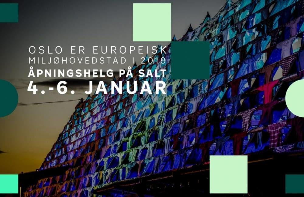 Hele byen er invitert til å feire åpningen av Miljøhovedstadsåret fra 4.-6. januar. Bli med da vel!