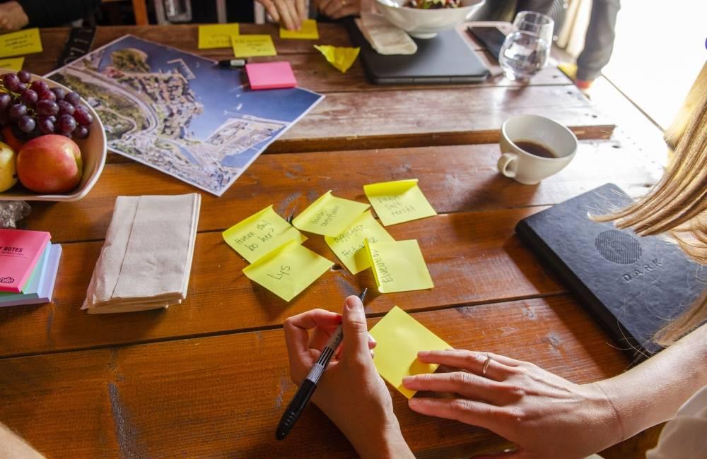 Etter frokostmøtet deltok rundt 50 personer på workshop. Foto: Andrea Rygg Nøttveit/Grønn Byggallianse