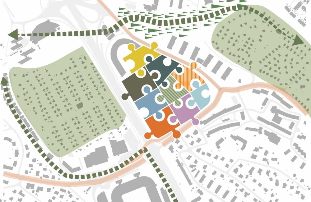 Sognsveien 80 skal bli et grønt og bærekraftig område.