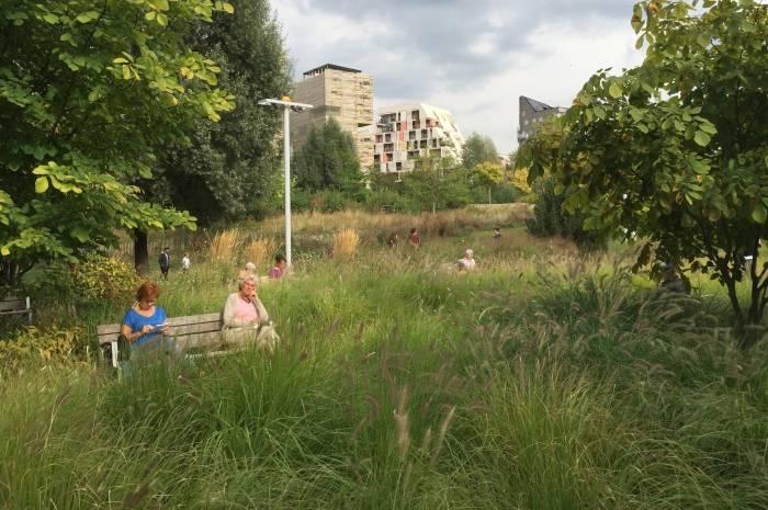 Grønt urbant i Paris- Foto: FutureBuilt