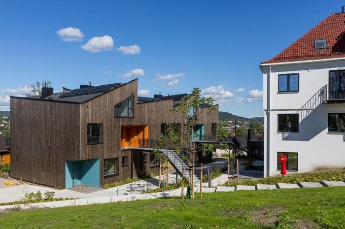 Ulshotveien 31 består av nybygde leiligheter i kombinasjon med et rehabilitert bygg. Foto: Tove Lauluten