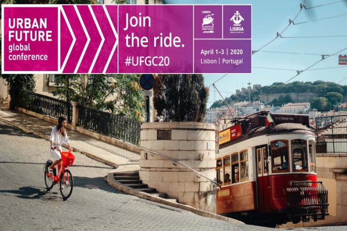 Fra 1. til 3. april kan du være med på URBAN FUTURE i Lisboa.