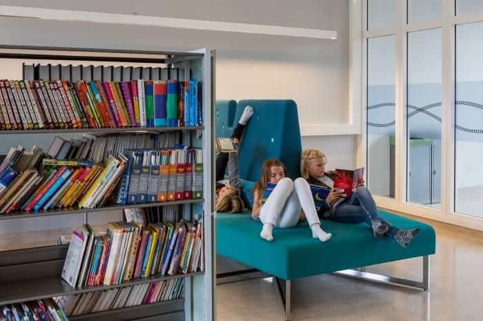 Brynseng skole - bibliotek - Foto Tove Lauluten