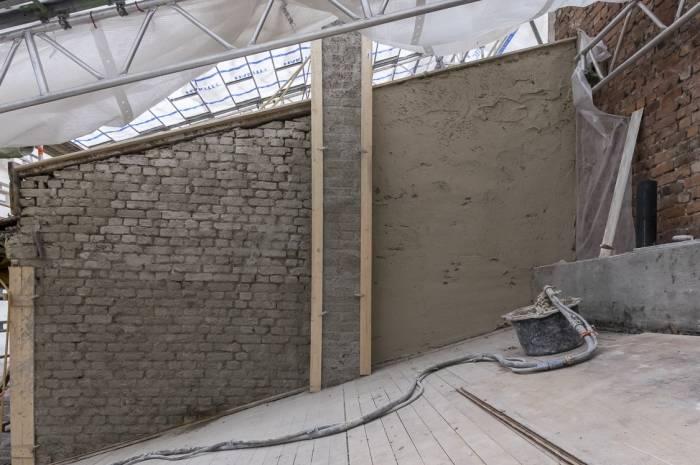 Bergsliens gate fasadebehandling prosess