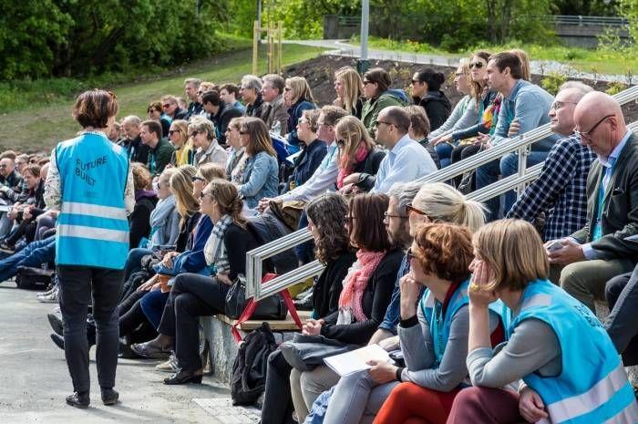 Forrige gang vi arrangerte Rullende seminar, var Granstangen skole et av prosjektene vi besøkte. Foto: Tove Lauluten