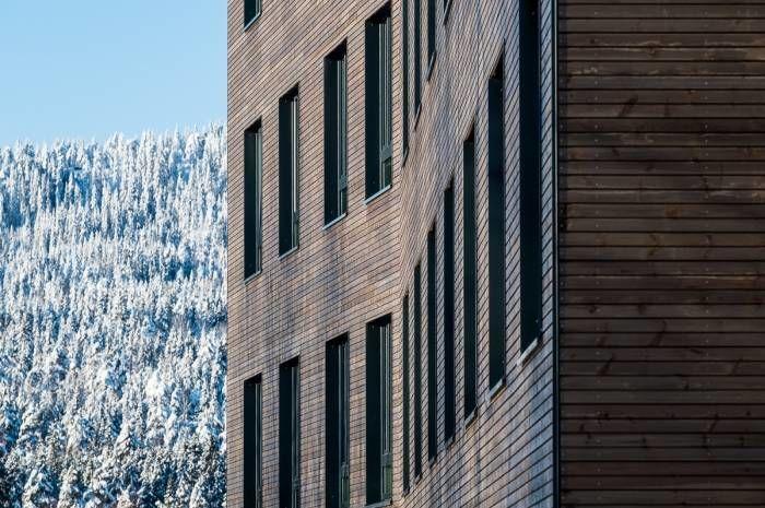 Kringsjå studentby - fasade - Foto Tove Lauluten