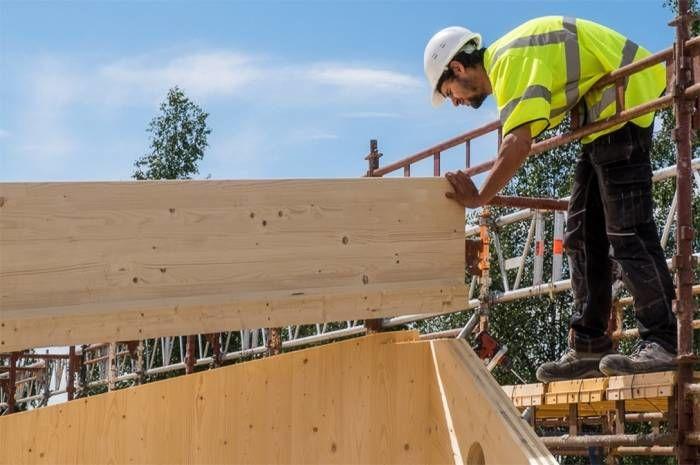 Byggeplassbefaring Ulsholtveien 31. Foto: Tove Lauluten