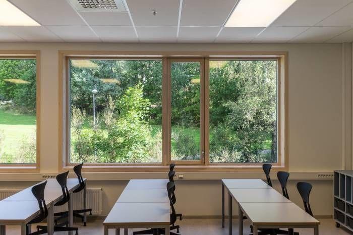 Rykkinn skole -  Foto Tove Lauluten