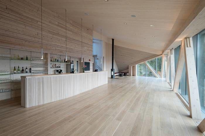 Gvepseborg restaurant, Tinn. Arkitekter: Context as. Foto: Per Berntsen