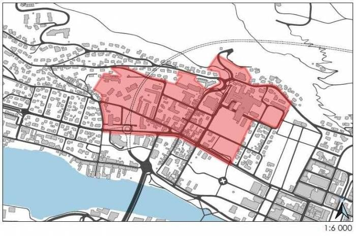 Drammen kommune inviterer til parallelloppdrag for det eksisterende sykehusområdet.
