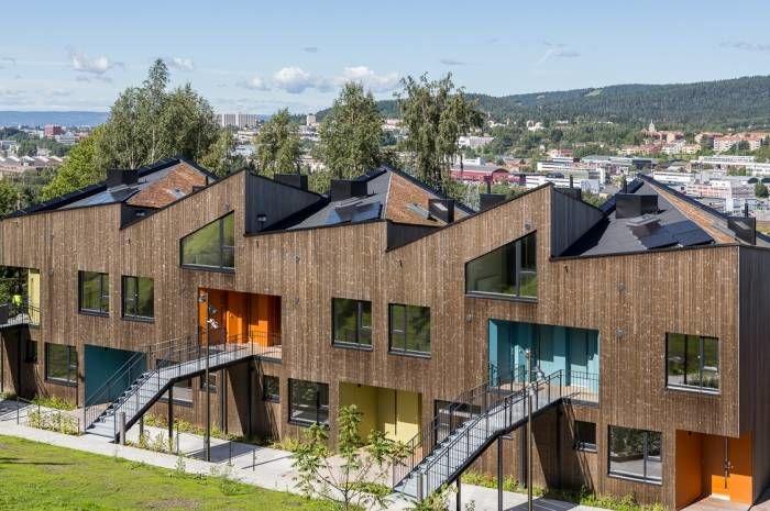 Ulsholtveien 31 er én av seks prosjekter som er videre i Statens pris for byggkvalitet. Utbygger: Stiftelsen Betanien Oslo. Arkitekt: Haugen/Zohar arkitekter. Foto: Tove Lauluten
