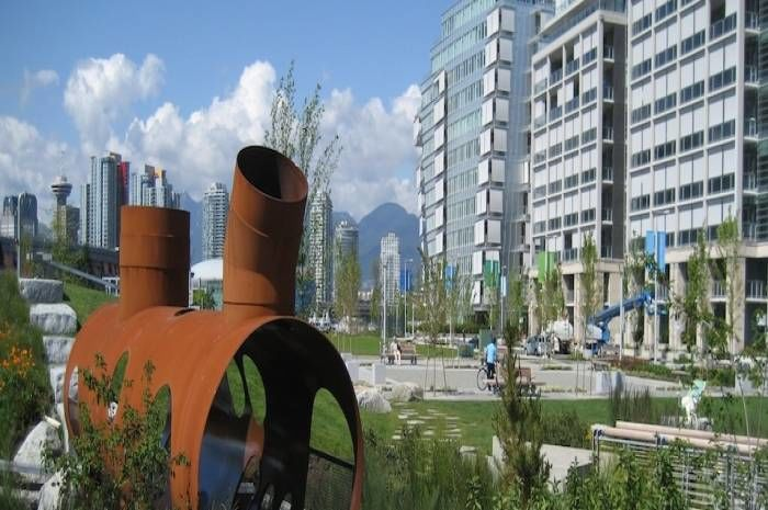 Olympic Village inVancouver. Foto ©-TODERIAN-UrbanWORKS