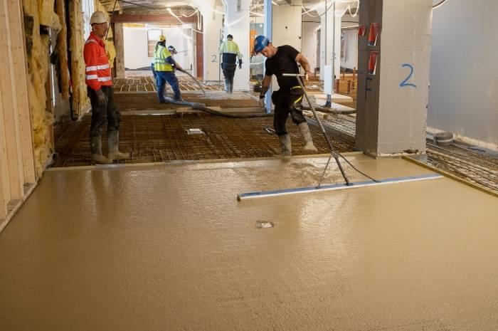 Skur  38 er i tet som Norges første bygg med leirebetong. Foto: Hans Kristian Riise/Oslo Havn